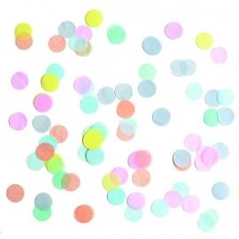 Confetti - pastel rond