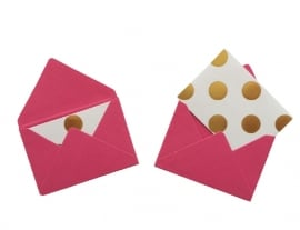 Mini envelope - Fuchsia.15