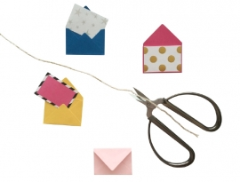 Mini envelopjes - Fuchsia .15