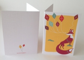 Greeting Card - Just a Fox
