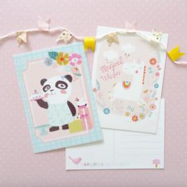 Sara Brezzi - Kaart Pandabeer