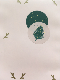 Stickers Christmas tree