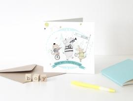 Card - A New Boy