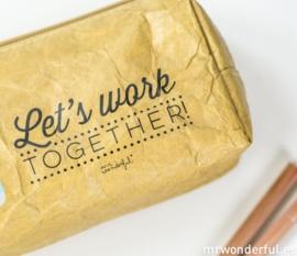 Pencil Wrap Let's work together