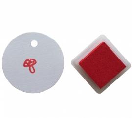 Ink pad - Scarlet