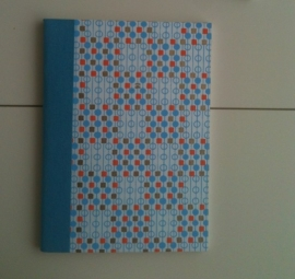 Notebook Blue Graphic