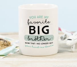 Mug Favorite Big Brother