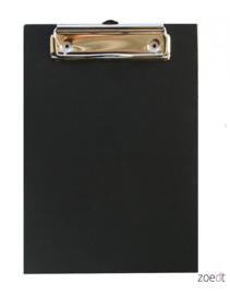 Houten Klembord Zwart - A5