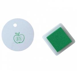 Stempelkussentje groen - fresh green