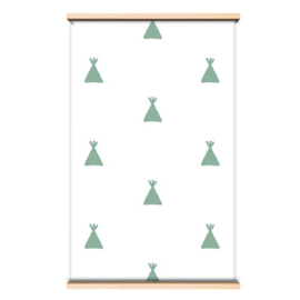 Behangpapier Green tipi
