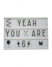 Symbolenset lightbox - numbers & symbols