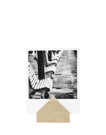 Kaartenhouder huisje hout