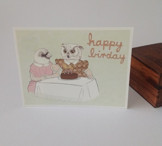Postcard Happy Birday