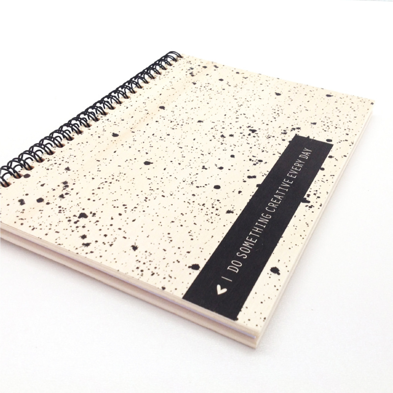 Office Notebook Wood - Do Something