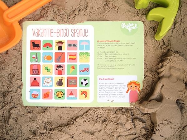 Vakantie-bingo Spanje
