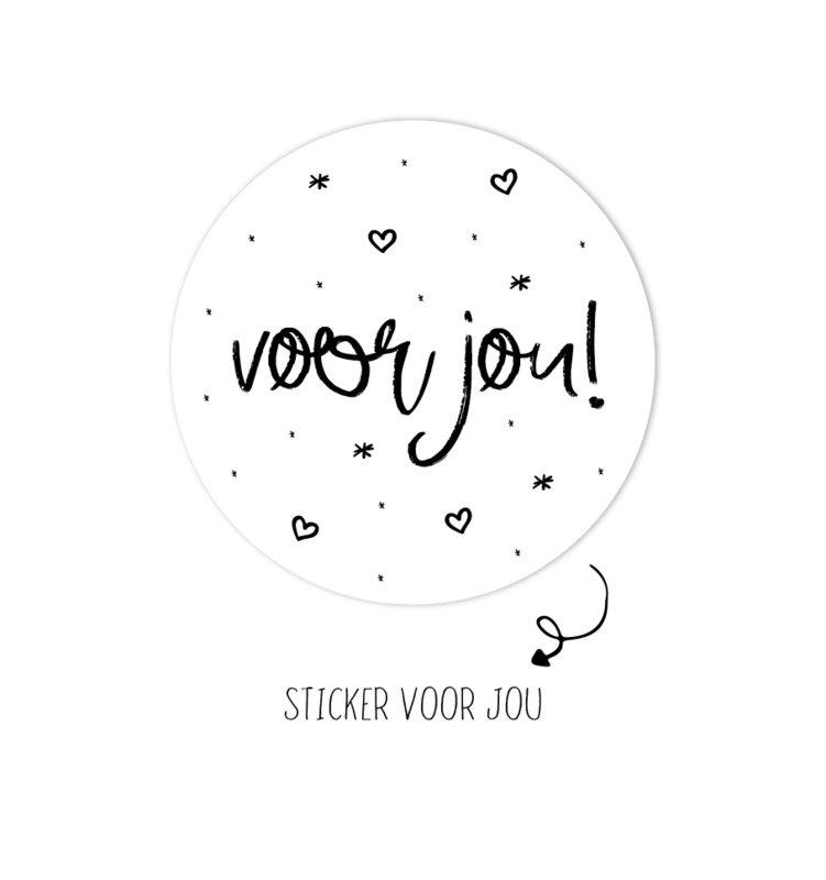 Stickers Voor jou