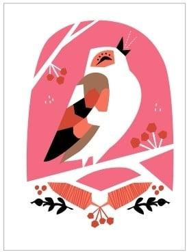 Card Song Bird