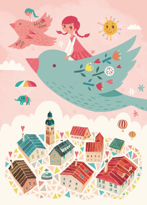 Irene Chan - Kaart Bird Ride