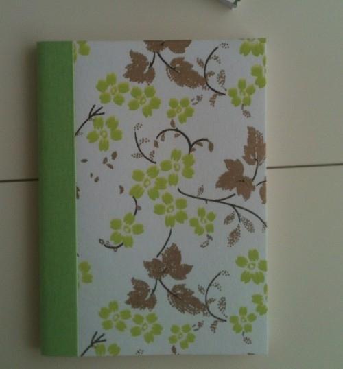 Notebook Green On Stem