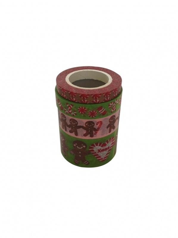 Masking Tape Kerst Set Gingerbread .45