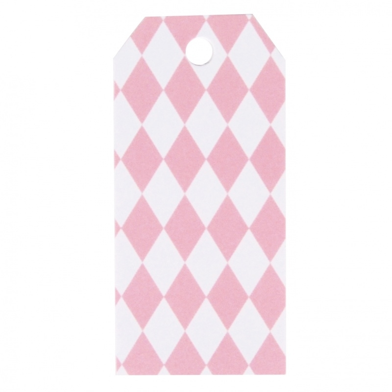Gift tags - pink wyber