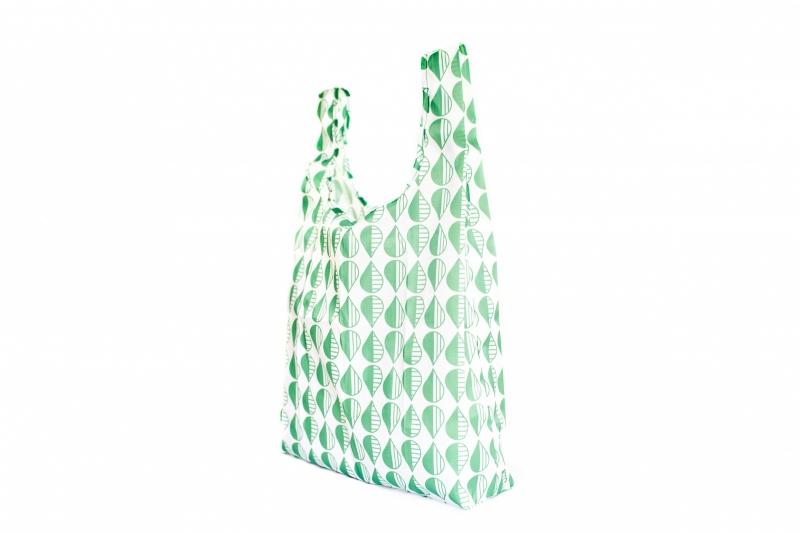 Opvouwbare tas - groen