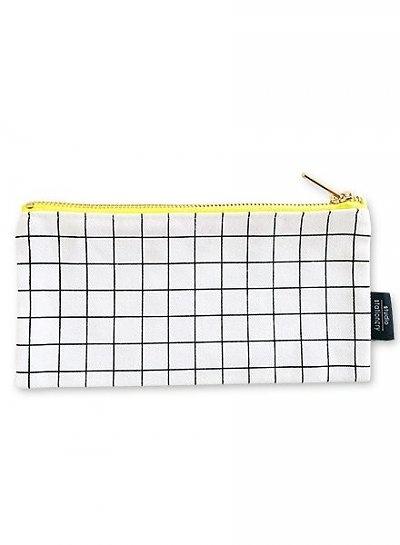Canvas bag Grid S