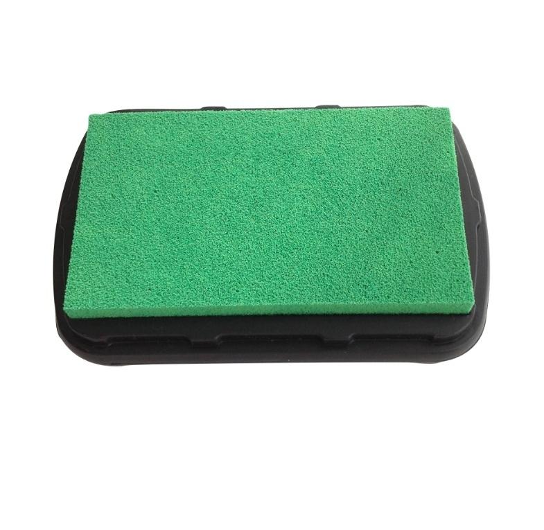 Stempelkussen textiel inkt - Neon Groen
