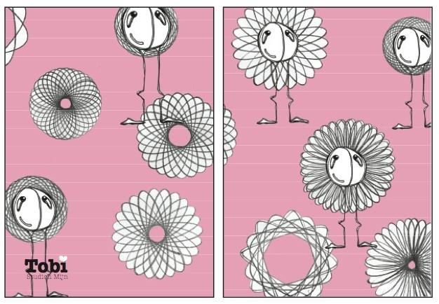 Tobi Spirograph - Babypink
