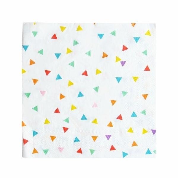 Papieren servetten - multi color