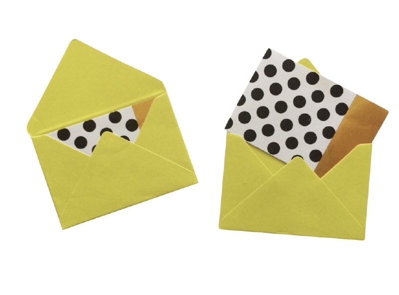 Mini envelope - Lightgreen.16