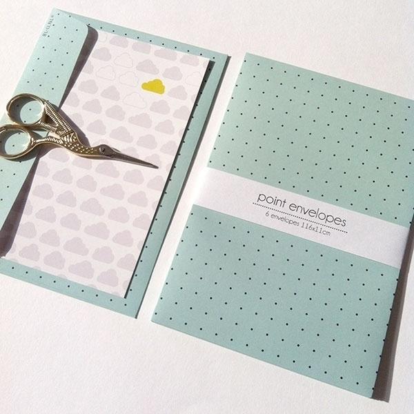 Envelopes C6 Dots