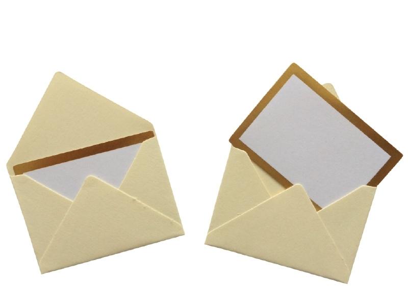 Mini envelope - Ivory.11