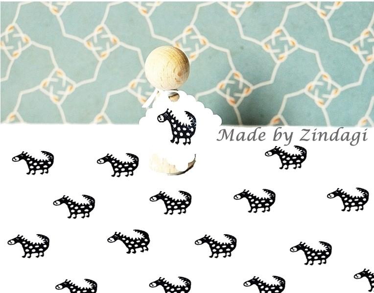 Mini stamp - Dino