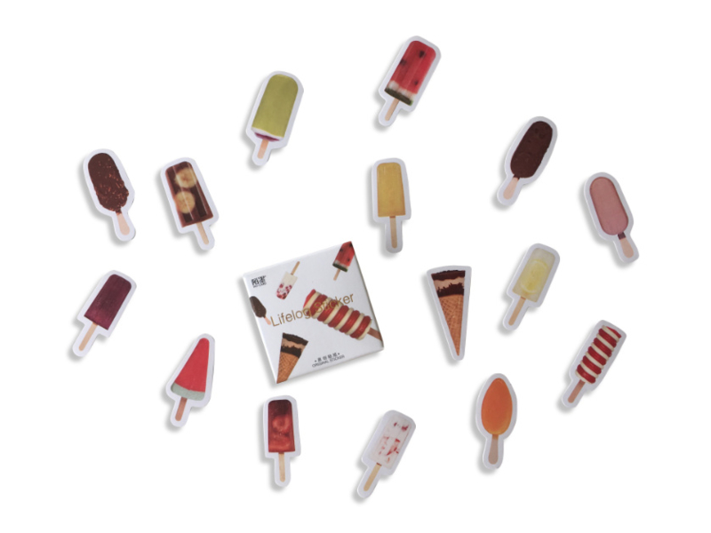 Stickerset - Ice Cream