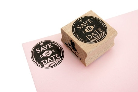 Stamp Save The Date