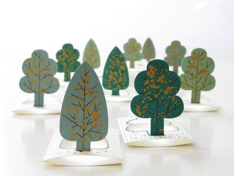 Forest Boomkaartjes