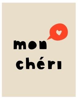 Kaart - MON CHERI!