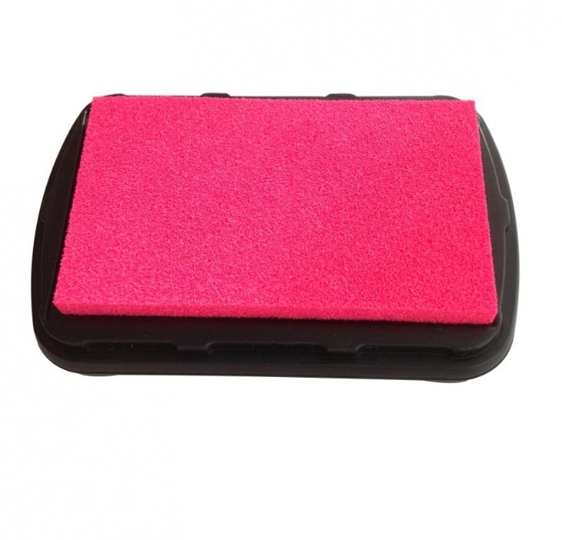 Ink Pad Textile - Neon Pink