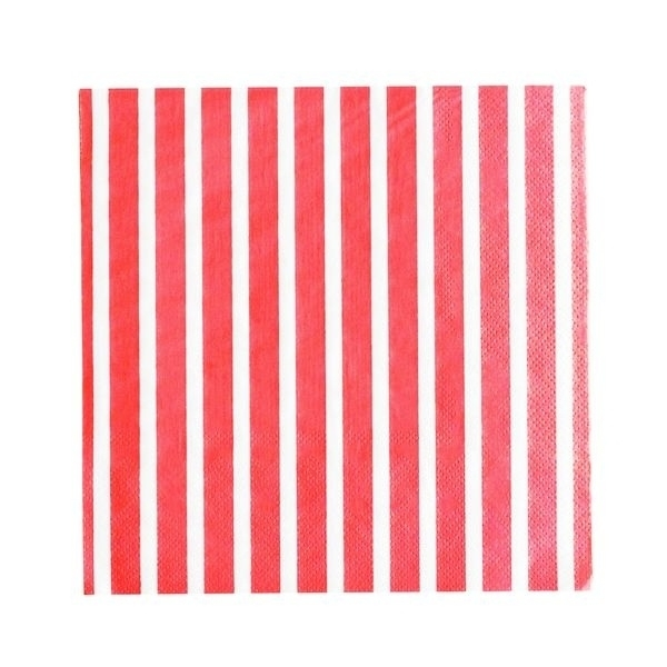 Paper Napkins - Red