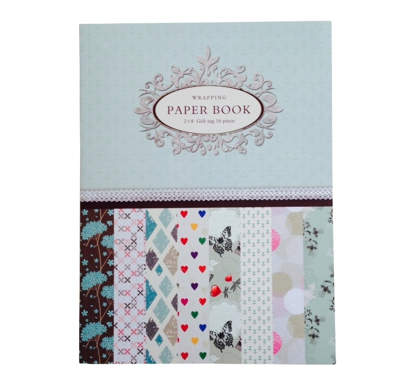 Wrapping Paper Book Mint