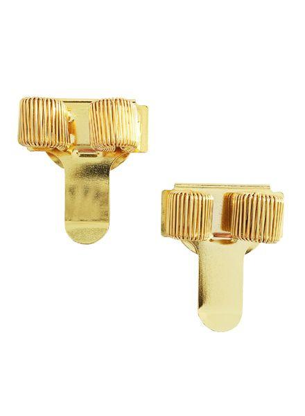 Pen holder clips Gold