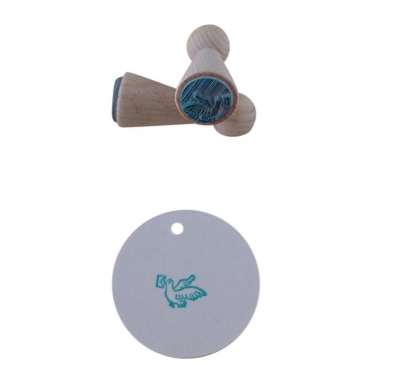 Mini stempel - Postduif