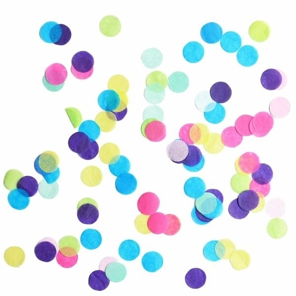 Confetti - multi color