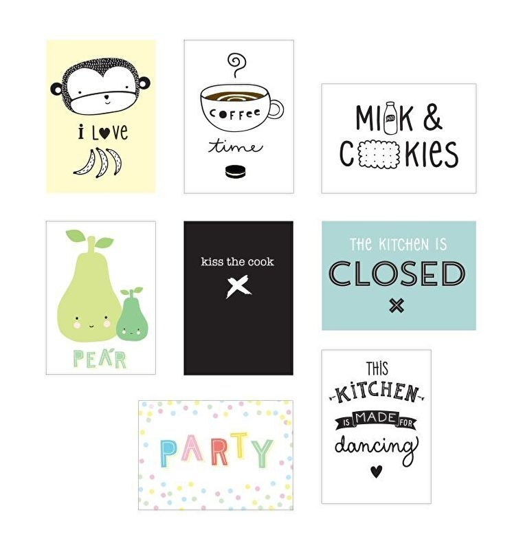 Lightbox Poster Sheets - Kitchen