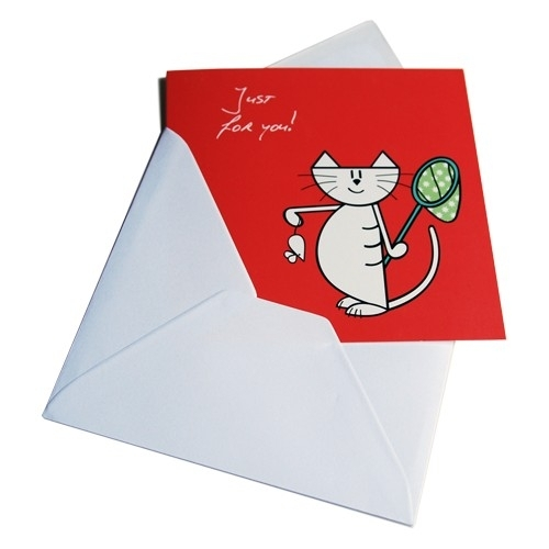 Greeting Card - Just for you