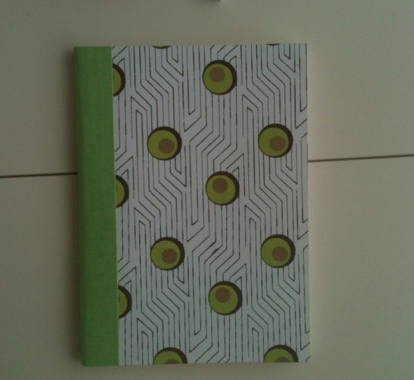 Notebook Green Stripe and Dot