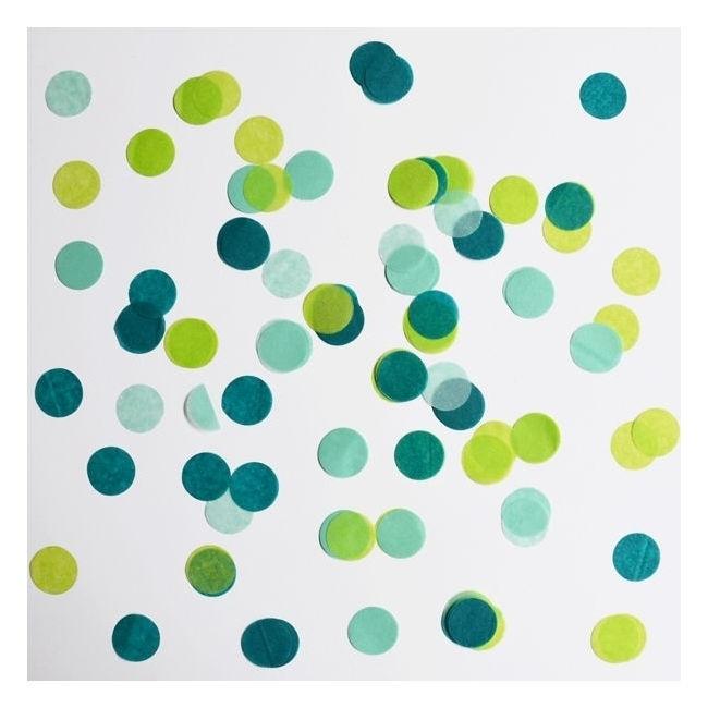 Confetti - groen
