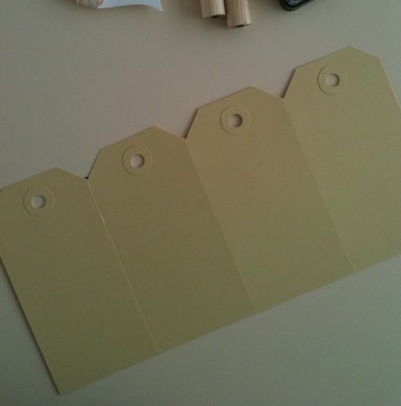 Labels geel