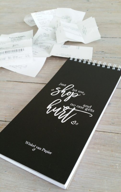 JUST LET ME SHOP - Notepad